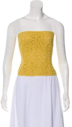 Ter Et Bantine Strapless Eyelet Top w/ Tags