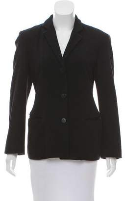 Donna Karan Structured Wool Blazer