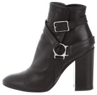Giambattista Valli Buckle Leather Ankle Boots