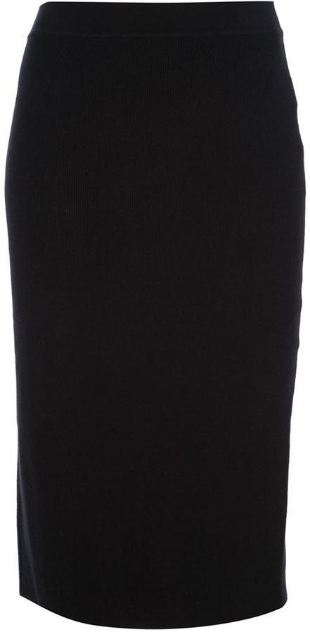 Sonia Rykiel Sonia By fine ribbed pencil skirt
