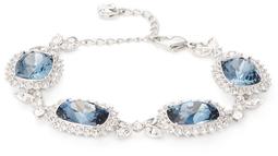 Pavé Framed Damien Crystal Station Bracelet $199 thestylecure.com