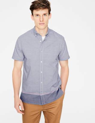 Boden Cotton Short Sleeve Shirt