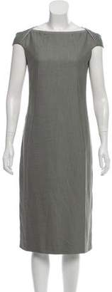 Calvin Klein Collection Woven Midi Dress