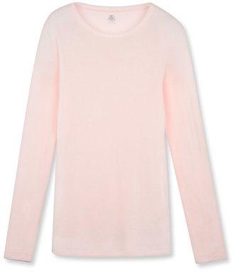 Womens long-sleeved light cotton tee