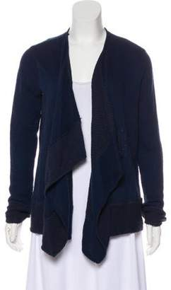 Calypso Long Sleeve Knit Cardigan Blue Long Sleeve Knit Cardigan