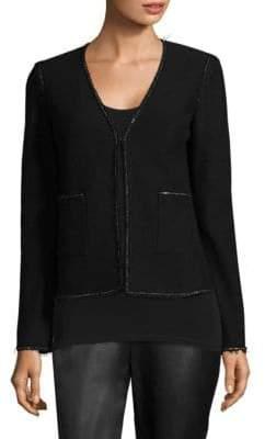 St. John Boucle-Knit Jacket