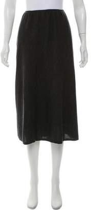 Eileen Fisher Wool Knit Maxi Skirt