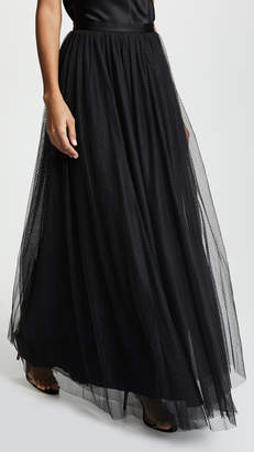 Needle & Thread Dotted Tulle Maxi Skirt