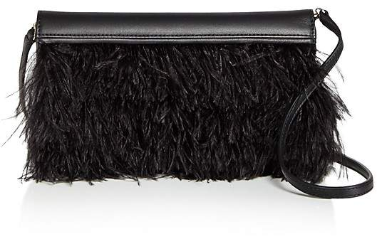 Max Mara Max Mara Feather Evening Clutch