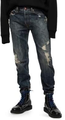 Diesel Men's Mharky Slim-Fit Jeans - Denim - Size 36
