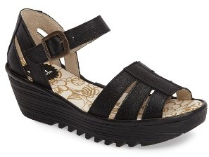 Women's Fly London Rese Wedge Sandal $179.95 thestylecure.com