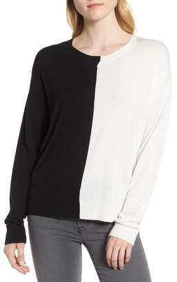 Trouve Trouv? Asymmetrical Pullover Sweater