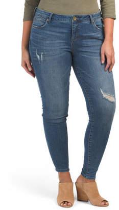 Plus Toothpick Skinny Jeans