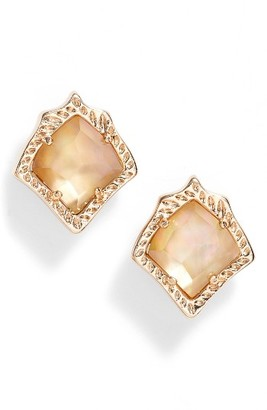 Women's Kendra Scott Kirstie Stud Earrings $50 thestylecure.com