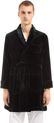 Velvet Cotton Robe