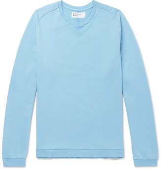 Universal Works Loopback Cotton-Jersey Sweatshirt