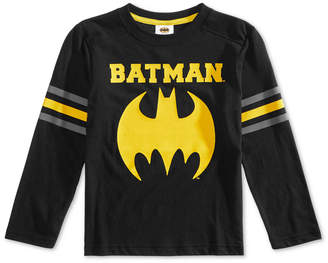 Dc Comics Toddler Boys Batman Jersey Graphic T-Shirt