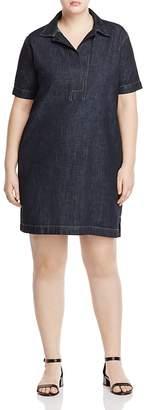 Lauren Ralph Lauren Plus Denim Shirt Dress