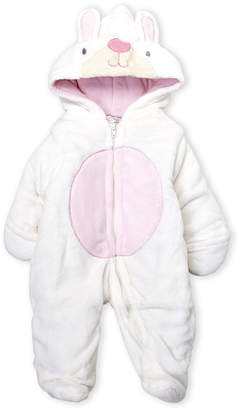 Baby Essentials Quiltex (Newborn Girls) Bunny Hooded Pram Suit