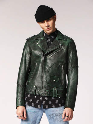 Diesel Leather jackets 0AATC - Green - L
