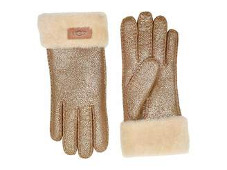UGG Turn Cuff Water Resistant Sheepskin Gloves