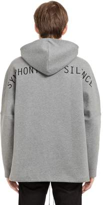 Oamc Oversized Sos Cotton Sweatshirt