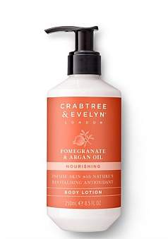 Crabtree & Evelyn Pomegranate & Argan Oil Body Lotion 250Ml