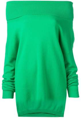 P.A.R.O.S.H. cashmere off shoulder sweater