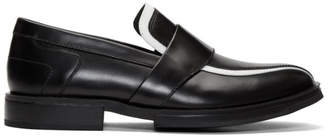 Kiko Kostadinov Black and White Box Loafers