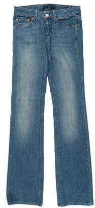 Marc by Marc Jacobs Low-Rise Flared Jeans