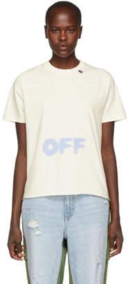 Off-White White Blurred Logo T-Shirt