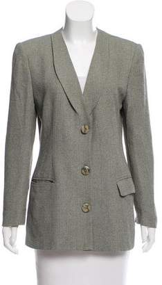 Christian Dior Structured Chevron Blazer