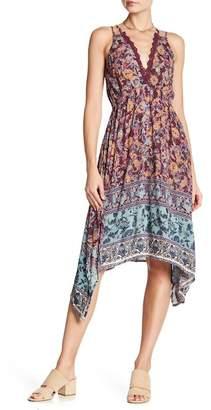 Angie Strappy V-Neck Crochet Knit Dress