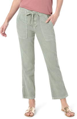 Joe's Jeans Relaxed Cotton Blend Twill Drawstring Pants