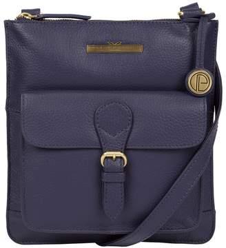 384de1491529 at Debenhams · Pure Luxuries London - Denim  Heather  Leather Cross-Body Bag