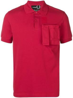Fred Perry patch pocket polo T-shirt