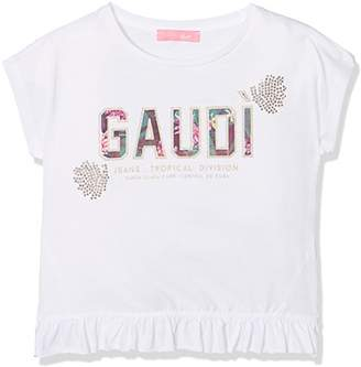 Gaudi' Gaudì Baby Girls' 811JD64007-2100 T-Shirt,(Size :6)