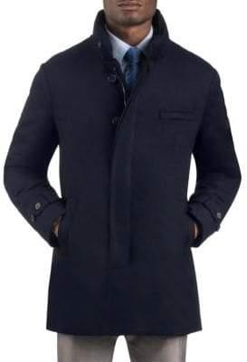 Norwegian Wool Cashmere Car Coat
