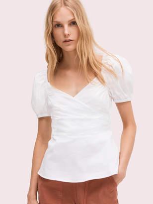 Kate Spade puff sleeve blouse