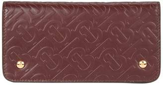 Burberry Monogram Leather Wallet