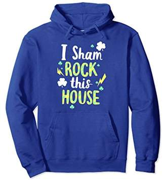 I Shamrock This House Clover Graphic Hoodie