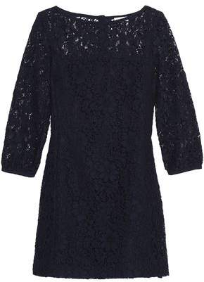 Claudie Pierlot Cotton-Blend Corded Lace Mini Dress