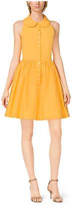Michael Kors Cotton-Poplin Shirtdress