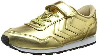 Hummel Girls' Reflex Metallic JR Low-Top Sneakers,9.5 UK Child