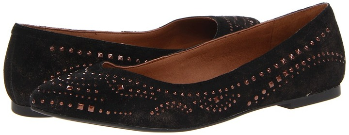 Lucky Brand Regan 2 (Black/Bronze) - Footwear