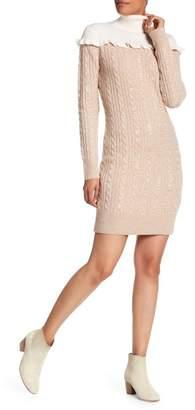 Club Monaco Panthea Wool Turtleneck Sweater Dress