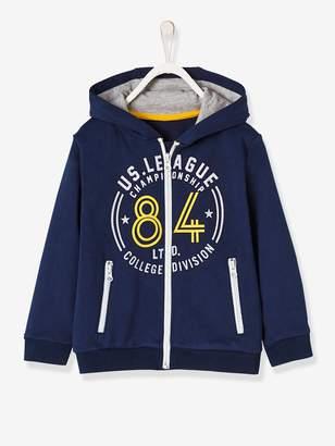 Vertbaudet Boys' Jacket with Zip and Hood