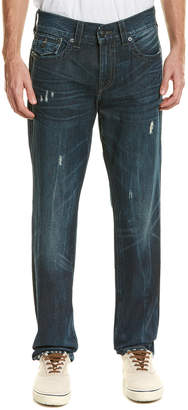 True Religion Geno Indigo Water Relaxed Slim Leg