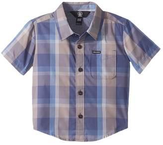 Volcom Woodson Short Sleeve Shirt Boy's Short Sleeve Button Up