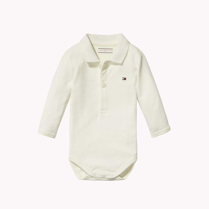 Tommy Hilfiger TH Baby Polo Onesie with Gift Box